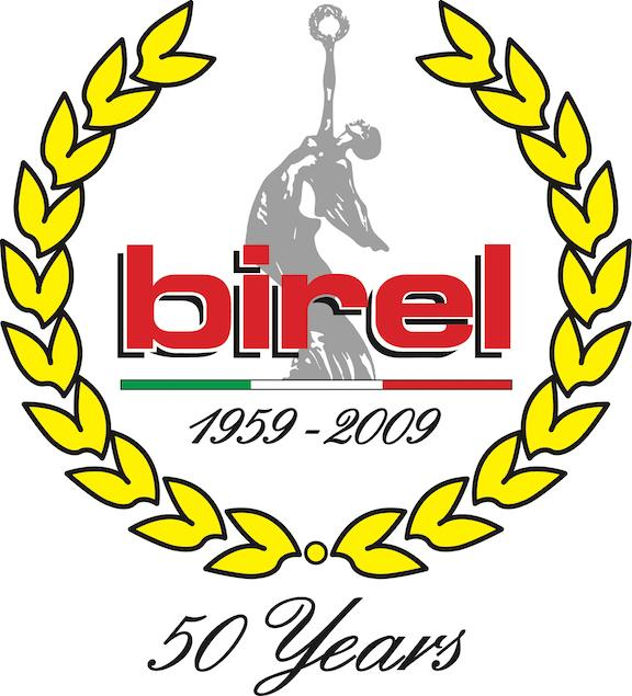 birel 50 Year logo