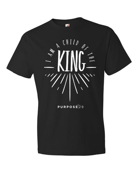 I Am A Child Of The King Short Sleeve Men's T-Shirt