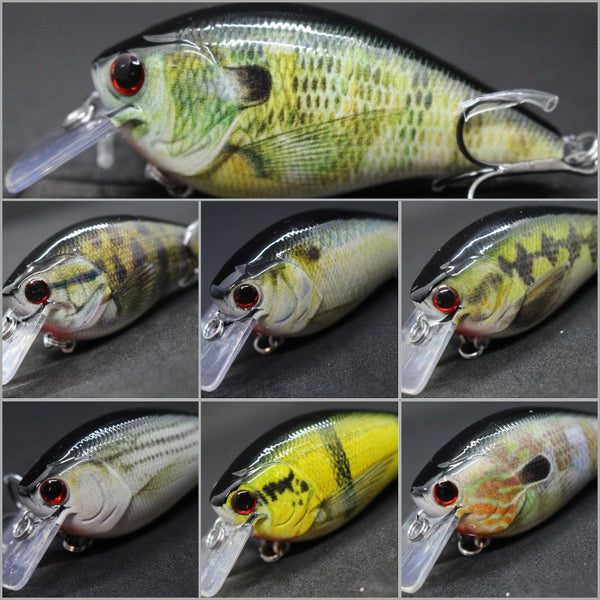 Fishing Lures Crankbait HC25<br>3 1/4 inch 2/3 oz