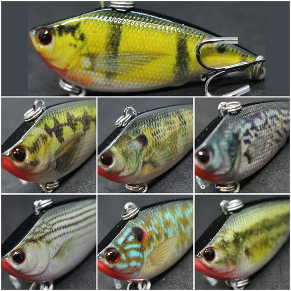 Fishing Lures Lipless HL540<br>2 1/4 inch 1/3 oz