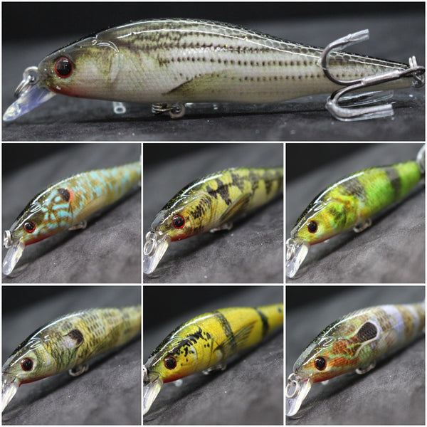 Fishing Lures Minnow HM597<br>3 1/3 inch 3/8 oz