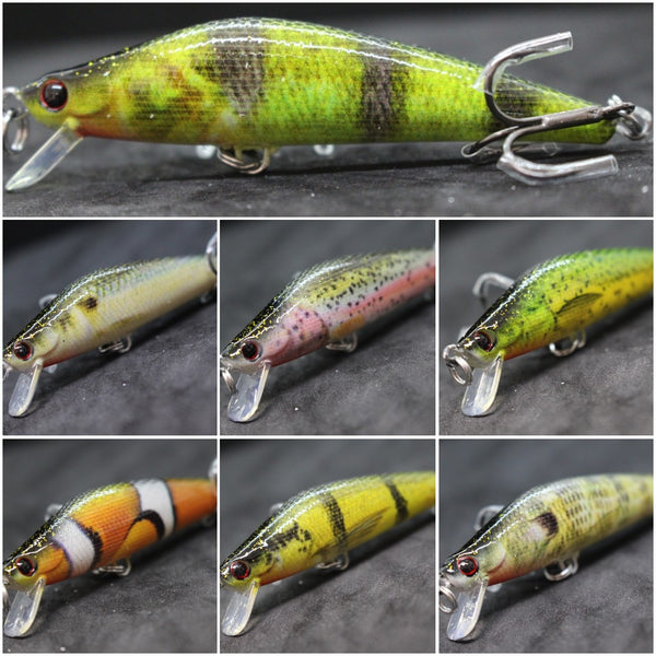 Fishing Lures Minnow HM653<br>3 inch 1/4 oz