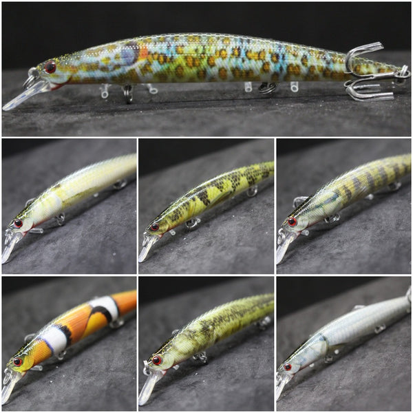 Fishing Lures Minnow HM672<br>5 inch 7/16 oz