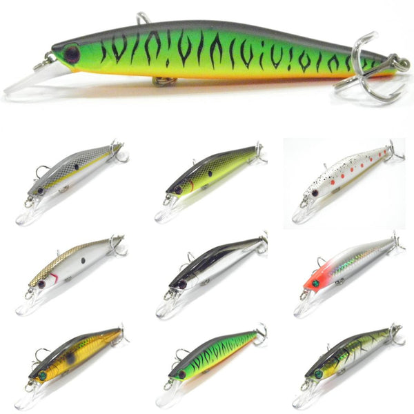 Fishing Lures Minnow M673<br>4 1/2 inch 7/16 oz