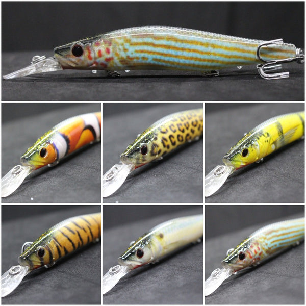 Fishing Lures Minnow HM629<br>5 1/4 inch 2/3 oz