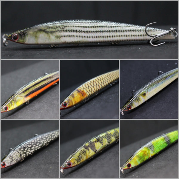 Fishing Lures Minnow HM717<br>4 1/3 inch 3/4 oz