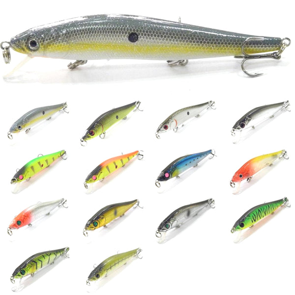 Fishing Lures Minnow M262<br>5 1/4 inch 7/8 oz