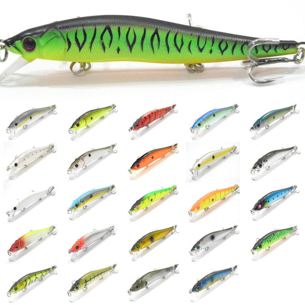 Fishing Lures Minnow M262S<br>4 3/4 inch 1/2 oz