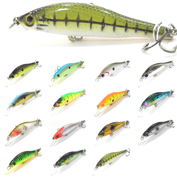 Fishing Lures Minnow M431<br>3 3/4 inch 1/3 oz