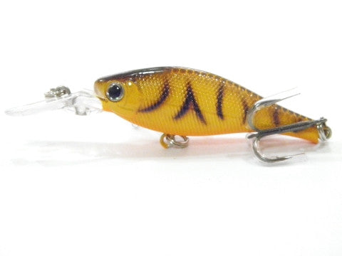 Wlure 3 1//3 inch Minnow Fishing Lures Shallow Water Bass Fishing M597
