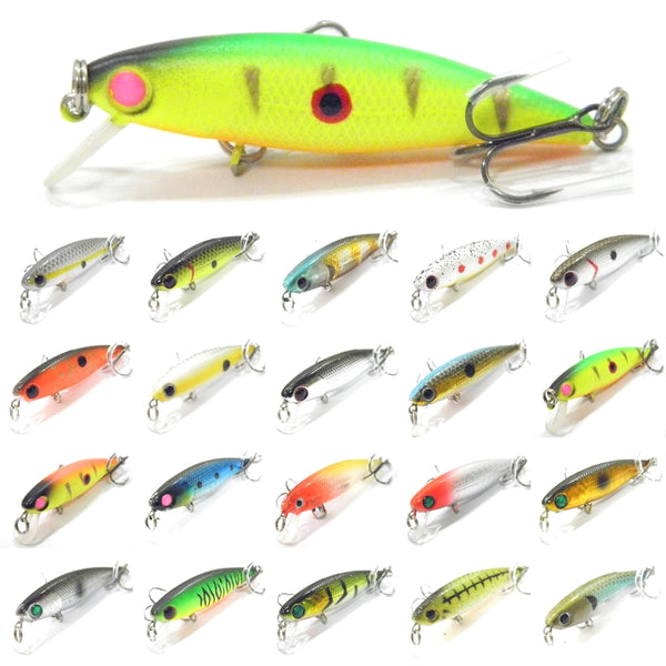 Fishing Lures Minnow M639<br>2 1/2 inch 1/8 oz