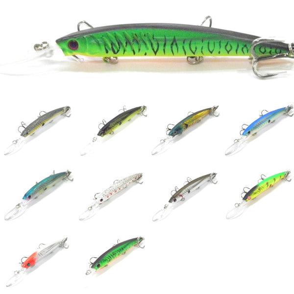 Fishing Lures Minnow M650<br>5 1/2 inch 1/2 oz