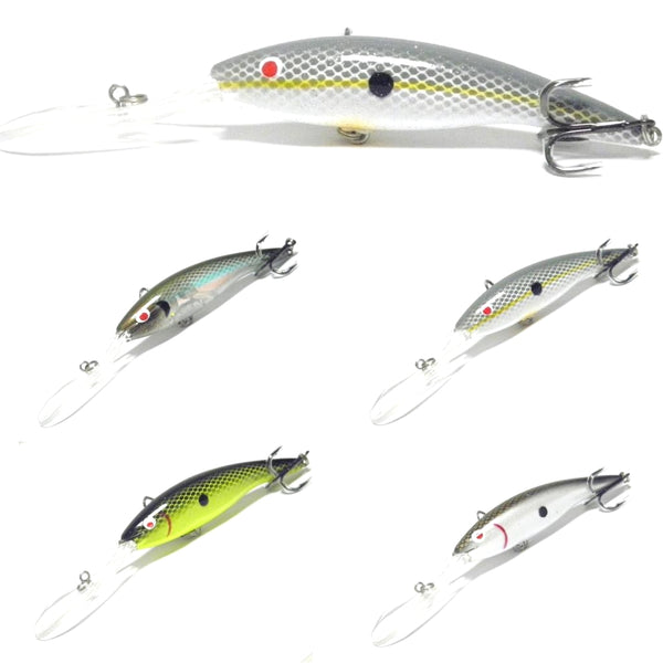 Fishing Lures Minnow M758<br>5 1/4 inch 1/2 oz