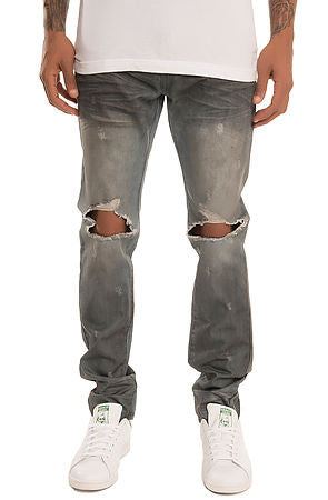 The S.Q.Z. Premium Moto Inspired Skinny Denim (Style GD-2322-Trooper)