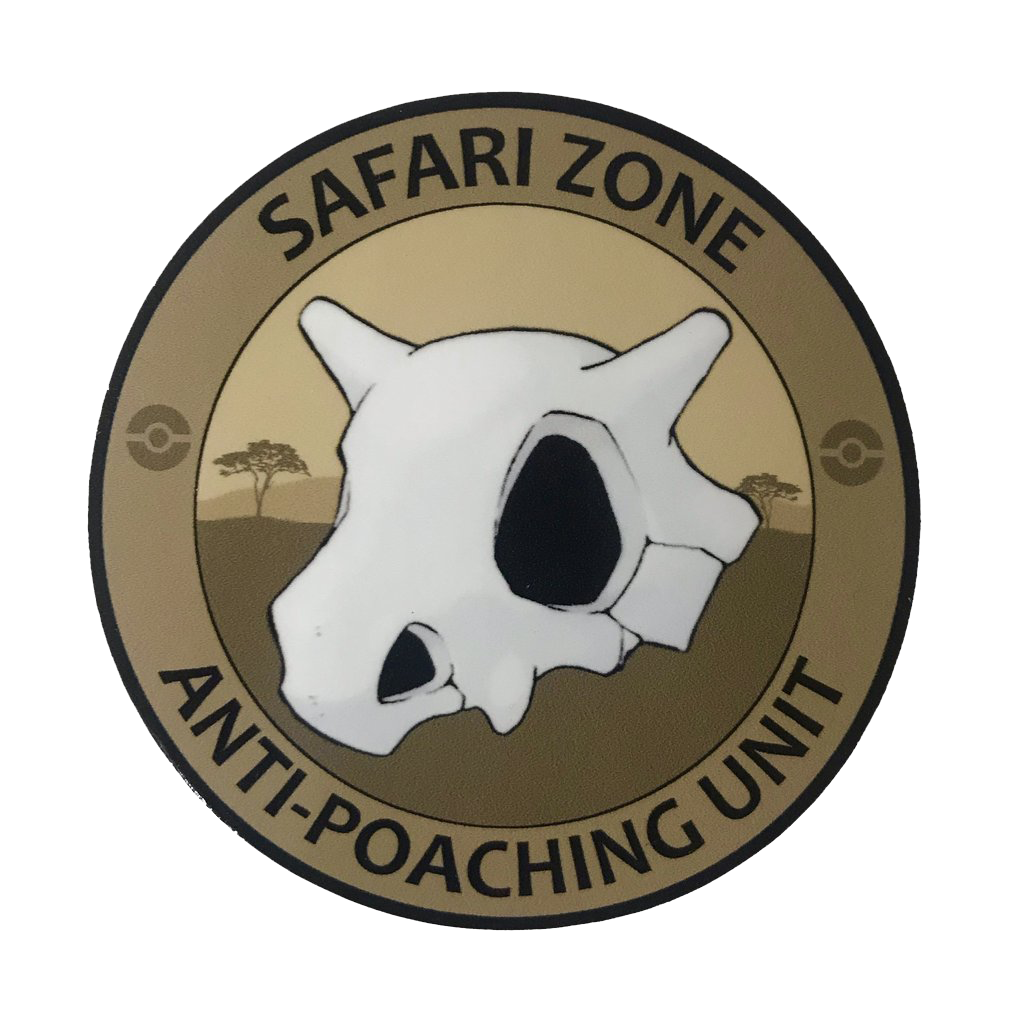 Safari Zone Anti Poaching Unit Sticker