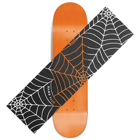 Web Clear Printed Black Griptape