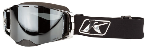 Klim Edge Goggle - Focus Chrome Dark Smoke Silver Mirror