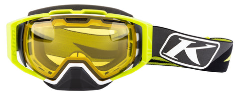 Klim Oculus Goggle - Dissent Green - Photochromic Yellow to Smoke