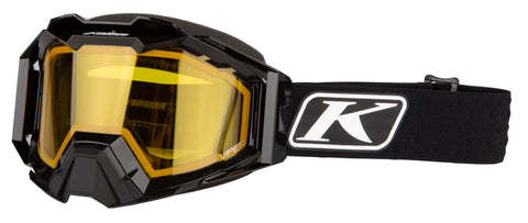 Klim Viper Pro Snow Goggle - Elite Black - Yellow Tint