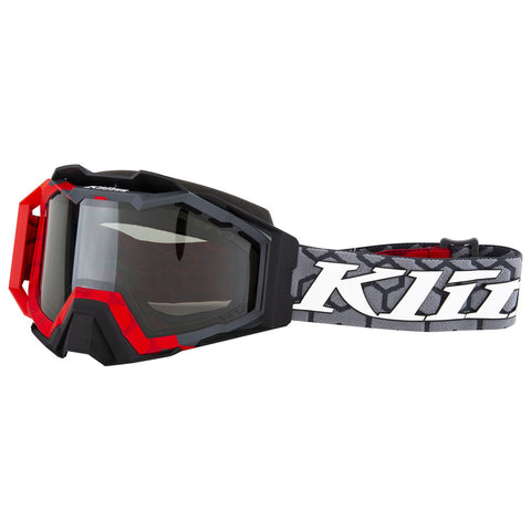 Klim Viper Pro Snow Goggle - Hive Red - Smoke Polarized
