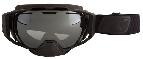 Klim Oculus Goggle - Diamond Fade Black - Smoke Silver Mirror and Light Yellow Tint
