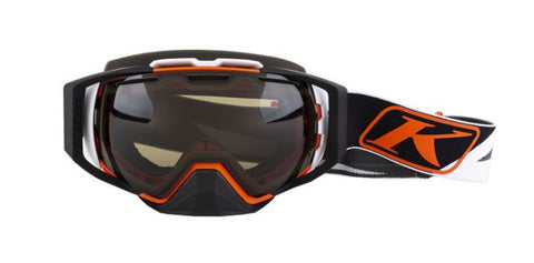 Klim Oculus Goggle - Dissent Orange - Brown Polarized Comfort