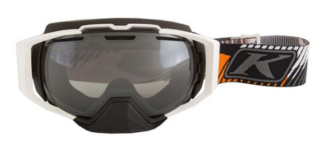 Klim Oculus Goggle - Tribal Warfare Orange - Smoke Silver Mirror & Clear Tint