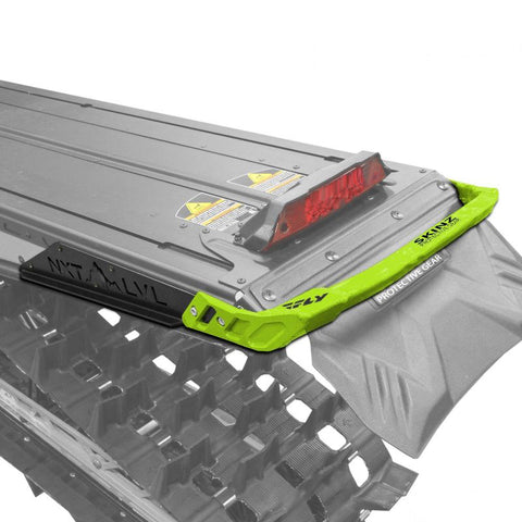 Skinz NXT LVL Rear Bumper - Lime & Flat Black - Polaris 2017 AXYS 174