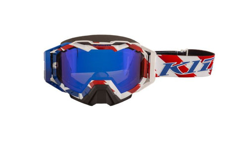 Klim Viper Pro Snow Goggle - Patriot Pledge - Dark Smoke Blue Mirror