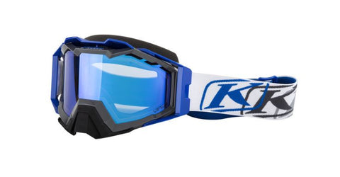 Klim Viper Pro Snow Goggle - K Corp Blue Dark - Smoke Blue Mirror