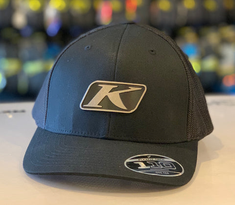 Klim NXT LVL Black Icon Snap Hat