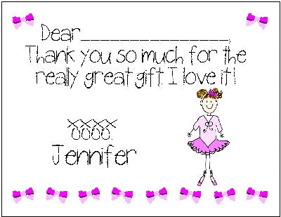 Fill-in Thank You #4 Customized by Fun with pads