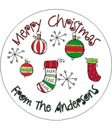 Christmas Sticker #2
