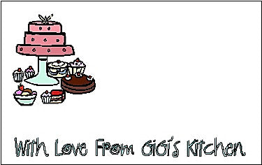 Gift Sticker #37 Cakes Customized by Fun with Pads