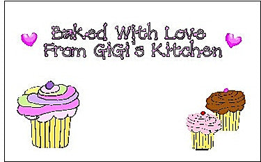 Gift Sticker #40 Cupcakes Customized by Fun with Pads