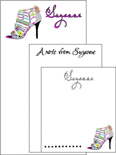 Shoes Pad Set F-21 Customized by Fun with Pads