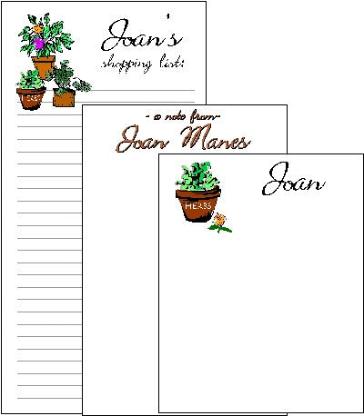 Flower Pots Pad Set F-24c Customized by Fun with Pads