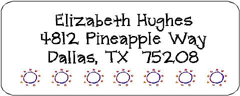 Address Label # 26