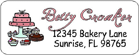 Address Label # 27 Customized by Fun with Pads