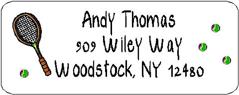 Address Label # 37