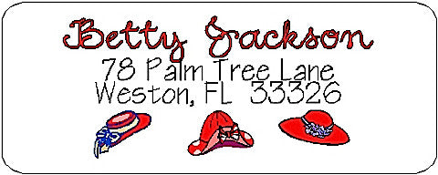 Address Label # 38 Customized by Fun with Pads