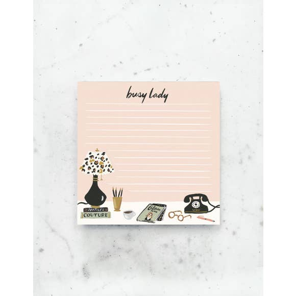 Busy Lady Deskpad