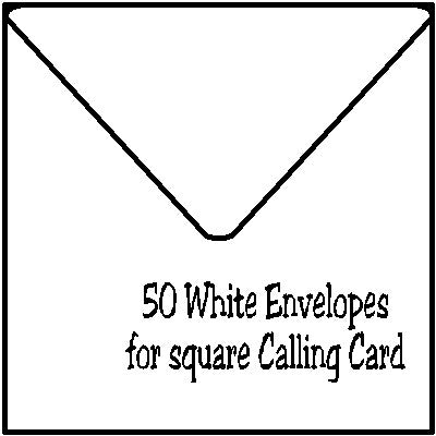Square  Envelope Customized by Fun with Pads