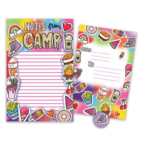 Glitter Camp Seal-n-Send