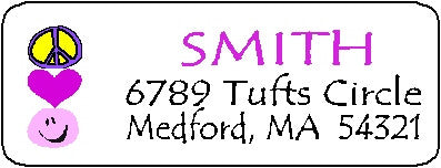 Address Label # 11 Customized by Fun with Pads