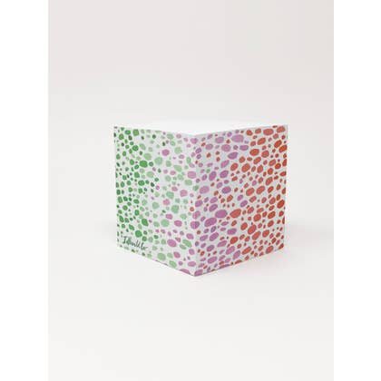 Speckled Sticky Note Cube