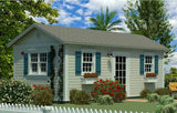 1SN-GC240CO 240 sf Colonial Guest Cottage