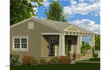 GC240CFP-BPS    Craftsman 240sf Guest Cottage   Building Plan Set