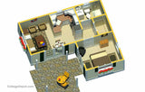 TH440VI-MPS 440sf  VICTORIAN TINY HOME - Material Pricing Set