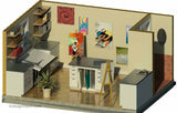 ST192VGT-KIT  Artist Garden Studio - Building Plan Kit